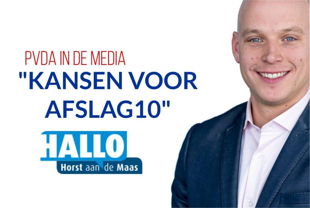 Kansen voor Afslag10 - PvdA Horst aan de Maas